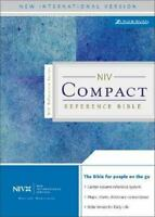 NIV Compact Reference Bible Leather Zondervan Publishing