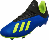 Adidas Football Kids Shoes Sports Boots Boys Soccer Cleats X 18.3 Firm FG DB2416