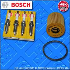 KIT Di Servizio Per PEUGEOT 206 1.4 16V Benzina TAPPI filtro olio (2003-2007)