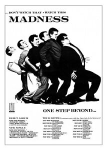 """Reproduction Alternate """"Madness - 1979 Tour"""", Poster, Size A2"""