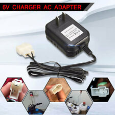Wall Charger AC Adapter For 6V Battery Powered Kid TRAX ATV Quad Ride On Car New