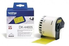 Brother DK Labels DK-44605 (62mm x 30.48m) Continuous Removable Paper Tape