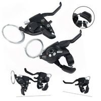 New Bike Bicycle MTB Brake Shifter Set Brake Shift Lever ST-EF51-8 3x8 Speed