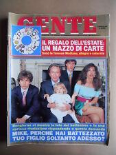 GENTE n°27 1991 Famiglia di Mike Bongiorno - Bimbi spariti in Cina  [G392]