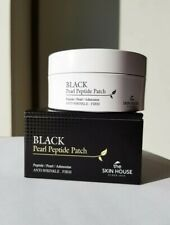 THE SKIN HOUSE Black Pearl Peptide Patch 60 Pcs Anti-Wrinkle, KOREAN New&Sealed