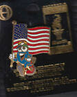 RARE PINS PIN'S .. OLYMPIQUE OLYMPIC ATLANTA 1996 MASCOTTE & DRAPEAU ~14