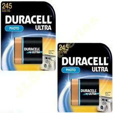2 x DURACELL ULTRA LITHIUM 245 2CR5 DL245 Photo BATTERY