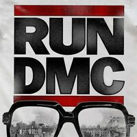 RUN DMC Old School Hip Hop Square Vintage Squared Eyeglasses Glasses S165