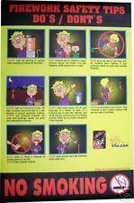 "Shogun Safety Poster 23""w x 35""h"