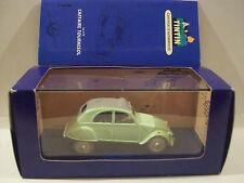 Tintin cars La 2 cv de l'Affaire Tournesol N.06 complete in box