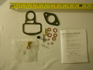ALLIS CHALMERS carburetor rebuild kit WC,WF tractor engine w/ Zenith 7078,7971