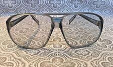 Vtg Foster Grant Glasses Elvis Style Glasses Dusty Blue Smoke USA #169
