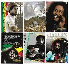BOB MARLEY LEGEND Trading Card Set 1995-96 Island Vibes  (50 Cards)
