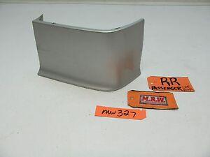 SAAB 900 9-3 QUARTER PANEL FILLER TRIM REAR BUMPER COVER MOLDING SILVER R RH RR