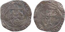 Charles VII ou VIII, petit blanc à la couronne, atelier indéterminé, RARE - 29