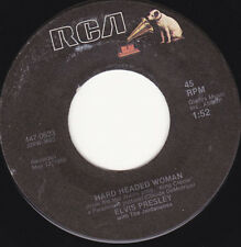 ELVIS PRESLEY - Hard Headed Woman 7""