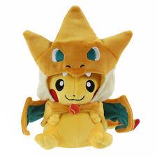 "Pikazard Mega Pikachu with Charizard Suit Pokemon Plush Toy Stuffed Animal 8"""