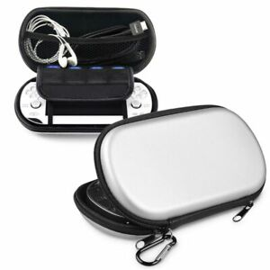 Silver Hard Eva Case Cover Bag Pouch For Sony Playstation PS Vita PSV New