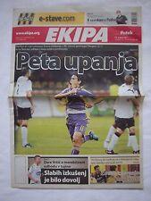 Orig.PRG   Europa League   2011/12   NK MARIBOR - GLASGOW RANGERS  //  Edition D