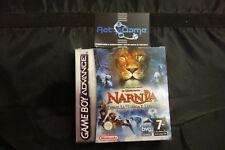 LE CRONACHE DI NARNIA il leone la strega l armadio  Nintendo Game Boy Advance