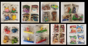 HUNGRY JACKS PROMOTIONAL TOYS SETS BRAND NEW IN PLASTIC