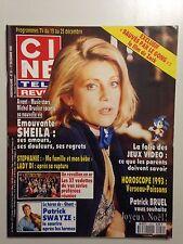 CINE TELE REVUE N°51 1992 SHEILA + POSTER PATRICK BRUEL