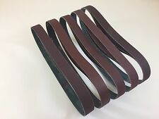 "1"" x 30"" Knife Makers Medium Grit Sanding Belts, 15 pc Asst, Knife Making"