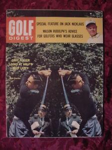 GOLF Digest magazine July 1964 Gary Player Bob Charles Jack Nicklaus Mary Mills
