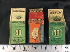 Matchbook Antique Lot Of 3 Telephone Bell System Manhattan New York Telephony Ad