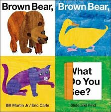 Brown Bear, Brown Bear, What Do You See? Slide And Find (world Of Eric Carle ...