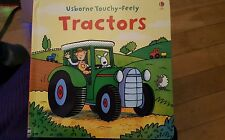 Touchy-feely Tractor by Fiona Watt (Board book, 2008)Usborne childrens New