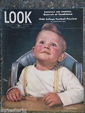 1946 September 17 Look Magazine College Football VINTAGE ADS Alexis Smith Pin-up