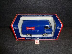 SpeCast 1964 Dodge A100 Van BUDWEISER BEER Liberty Classics 1:25 Diecast Truck G