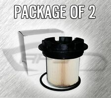 FUEL FILTER F55055C WITH CAP FOR FORD F250 F350 7.3L TURBO DIESEL - CASE OF 2