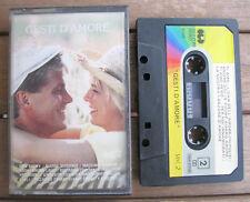 GESTI D'AMORE Vol. 2 (1987) MC TAPE ORIGINALE CGD – 30 2 COM 98001