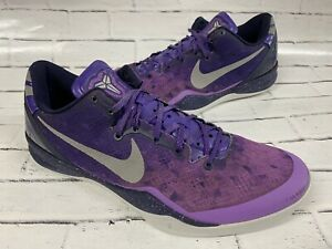 Nike Kobe VIII 8 System Playoffs Size 11 Court Purple 555035-500 NO TAG