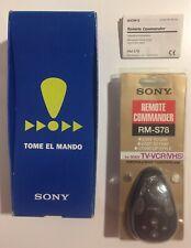 Sony Remote Commander RM-S78 (TV-VCR VHS) Nuevo, Original