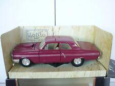 1/24 SCALE MAISTO 1964 FORD FAIRLANE THUNDERBOLT M Box