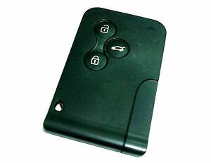 Für Renault Megane II Scenic Schlüsselkarte Karte Fernbedienung 433 mhz 7947 3Ta