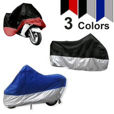 XXL Motorbike Motorcycle Scooter Waterproof UV Anti Rain Cover Dust Protector yu