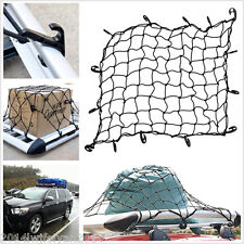 Car Van Elastic Cargo Luggage Bungee Net Roof Bar Rack Trailer Secure With Hooks
