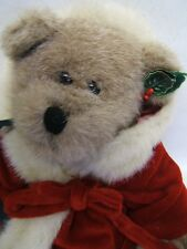 "Boyds Bear ""Christmas Bear"" Investment Collectables Limited Edition Signed"