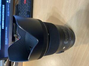 used Sigma 35mm f/1.4 DG HSM Canon EF mount Art Series