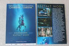 The Shape of Water (2017)  - Polish promo FLYER - ULOTKA