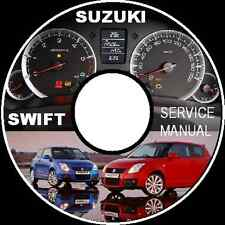 Suzuki Swift 2005-2010 RS413  RS415  RS416 WORKSHOP SERVICE MANUAL CD