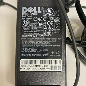 Dell AA20031 AC Adapter Power Supply 09364U OEM Power Cord