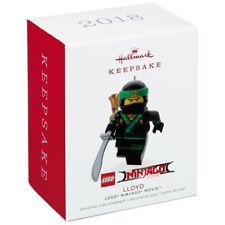 2018 Hallmark THE LEGO NINJAGO MOVIE Lloyd Ornament New Mint