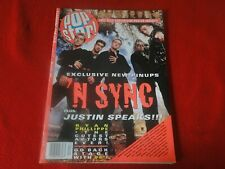 Vintage Teen Pop Rock Magazine Sept/Oct 1999 N' Sync with Posters G5