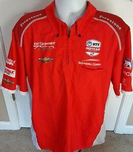 Ed Carpenter Racing 2XL Team Issued Ed Jones 2019 Indy 500 Pit Crew Shirt IndyCa