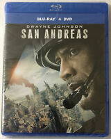 San Andreas (New Sealed Blu-ray/DVD See Pictures!, 2015) Dwayne Rock Johnson